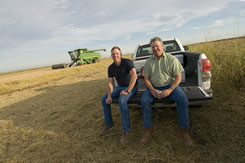 Tom is the fourth generation of his family to farm.