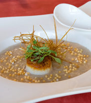 Scallop and Mushroom Congee