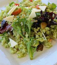 Italian Pesto Rice Salad