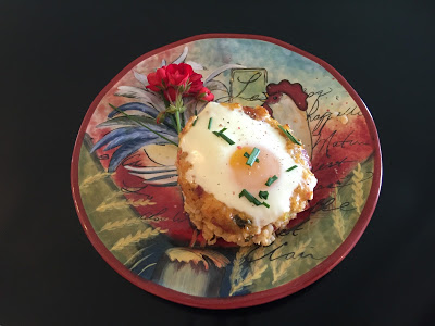 Eggs in Rice Baskets
