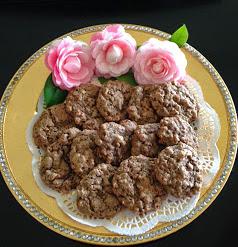 Cocoa Krispie Cookies