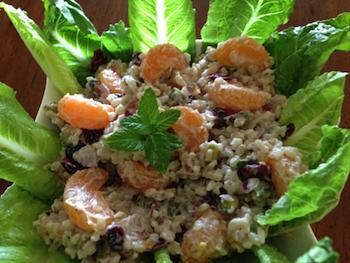 Mandarin and Brown Rice Salad