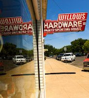 hardware store sign